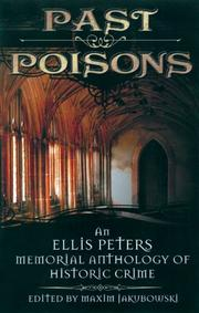 Cover of: Past Poisons |