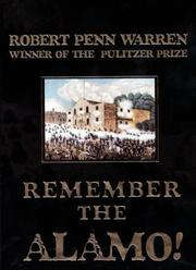 Cover of: Remember the Alamo!