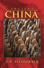 Cover of: Ancient China | C. P. Fitzgerald