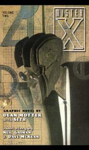 Cover of: Mr. X Volume 2 (Mister X) | Dean Motter