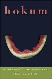 Cover of: Hokum: An Anthology of African-American Humor