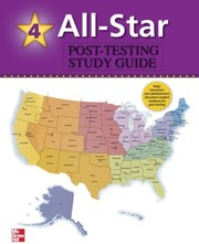 Cover of: All-Star - Book 4 (High-Intermediate - Low Advanced) - USA Post-Test Study Guide