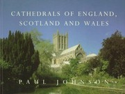 Cover of: Cathedrals of England, Scotland, and Wales | Paul Bede Johnson
