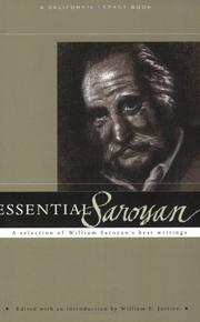 Cover of: Essential Saroyan