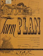 Cover of: Farm plan | United States. Farm Security Administration