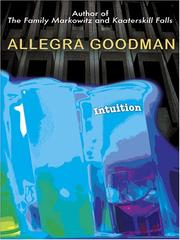 Cover of: Intuition: a novel