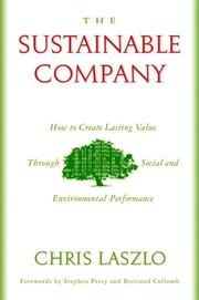 Cover of: The Sustainable Company