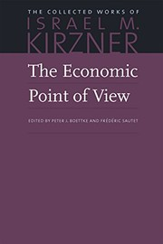 Cover of: The economic point of view | Israel M. Kirzner
