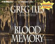 Cover of: Blood Memory (Iles, Greg)