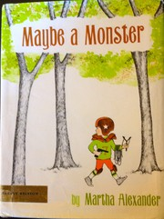 Cover of: Maybe a monster