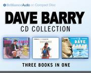 Cover of: Dave Barry CD Collection: Dave Barry Is Not Taking This Sitting Down, Dave Barry Hits Below the Beltway, Boogers Are My Beat