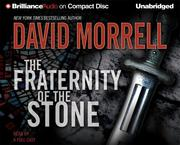 Cover of: Fraternity of the Stone, The (Morrell, David)