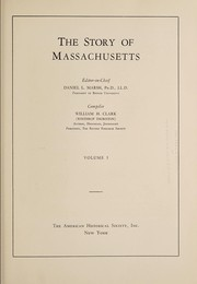 Cover of: The story of Massachusetts