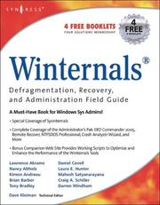 Cover of: Winternals |