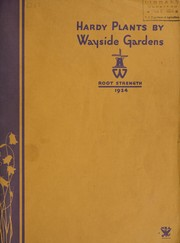 Cover of: Hardy plants by Wayside Gardens | Wayside Gardens Co