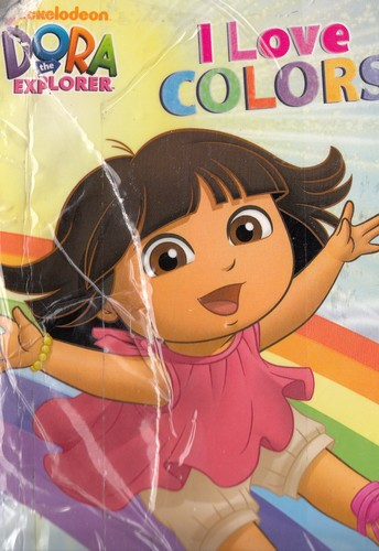DORA the Explorer - I love colors by