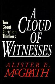 Cover of: A Cloud of Witnesses