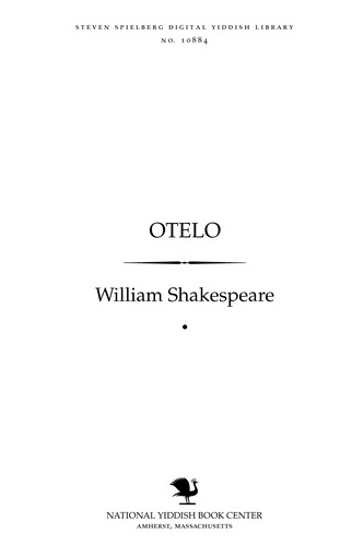 Oṭelo by William Shakespeare