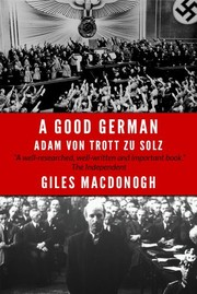 Cover of: A Good German | Giles MacDonogh