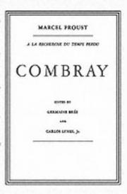 Cover of: Combray In French
