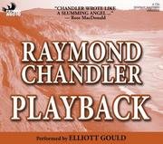 Cover of: Playback | Raymond Chandler