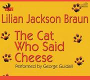 Cover of: The Cat Who Said Cheese (Cat Who... (Audio))