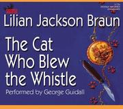 Cover of: The Cat Who Blew the Whistle (Cat Who... (Audio))