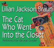 Cover of: The Cat Who Went Into the Closet (Cat Who... (Audio)) |