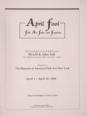 Cover of: April fool | Samuel Pennington