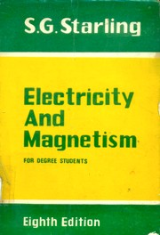 Cover of: Electricity and magnetism for degree students | Sydney G. Starling