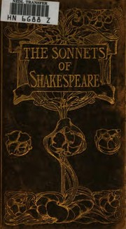 Cover of: The sonnets of Shakespeare. | William Shakespeare