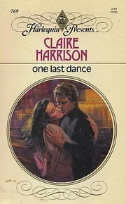 Cover of: One last dance | Claire Harrison