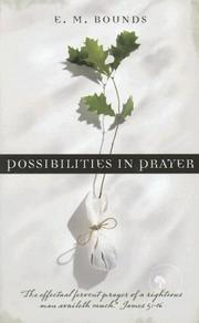 Cover of: POSSIBILITIES IN PRAYER