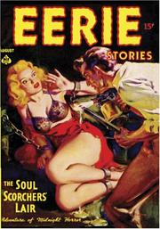 Eerie Stories - August 1937 by Ronald Flagg, Norman Saunders