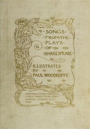 Cover of: Songs from the Plays of Shakespeare