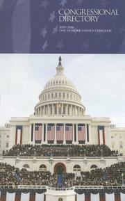 Official Congressional Directory, 2005-2006