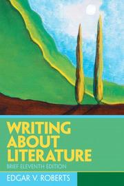 Cover of: Writing about literature