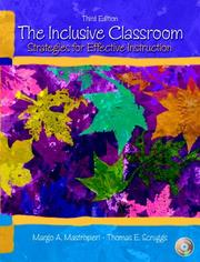 Cover of: inclusive classroom | Margo A. Mastropieri