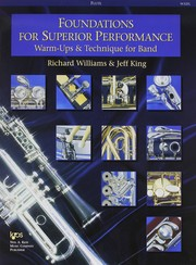 Cover of: Foundations for Superior Performance - Flute |