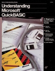 Cover of: Understanding Microsoft QuickBASIC | Judd Robbins