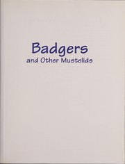 Cover of: Badgers And Other Mustelids (World Book