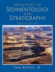 Cover of: Principles of Sedimentology and Stratigraphy (4th Edition) | Sam Boggs Jr.