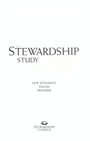 Cover of: NIV Stewardship study Bible | Christian Stewardship Council