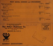 Price list by Albert Dickinson Company