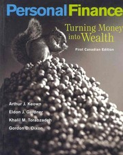 Cover of: Personal Finance: Turning Money Into Wealth, Canadian Edition