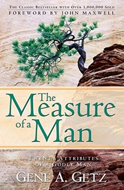 Cover of: The Measure of a Man