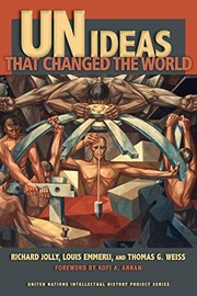 Cover of: UN ideas that changed the world | Richard Jolly
