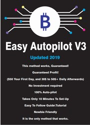 Cover of: Bitcoin 100$ A Day Autopilot-print1 |
