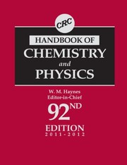 Cover of: CRC Handbook of Chemistry and Physics, 92nd Edition |