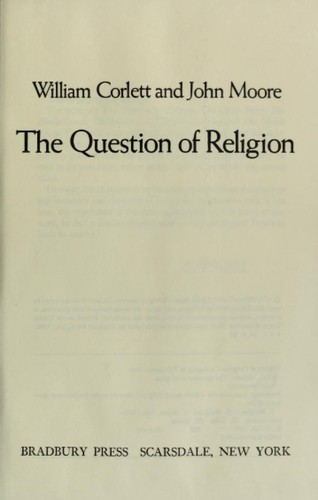 The question of religion by William Corlett
